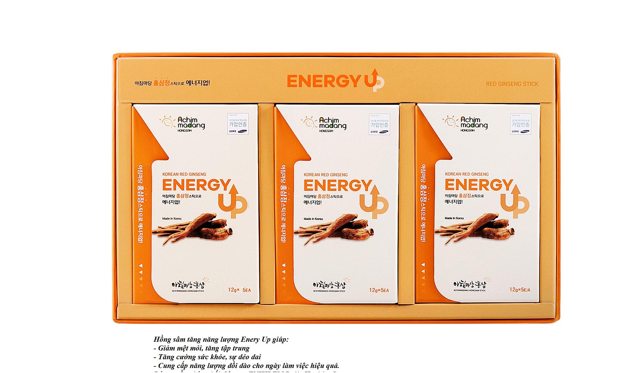 hồng sâm tăng năng lượng Enery UP