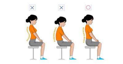Tư thế ngồi khiến ảnh hưởng chiều cao